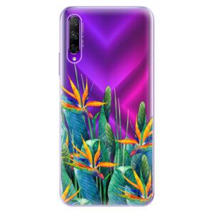 Odolné silikónové puzdro iSaprio - Exotic Flowers - Honor 9X Pro