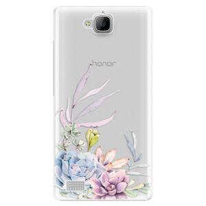 Plastové puzdro iSaprio - Succulent 01 - Huawei Honor 3C