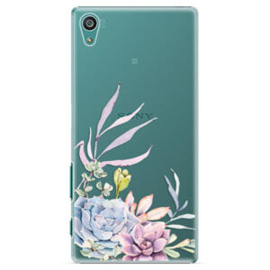 Plastové puzdro iSaprio - Succulent 01 - Sony Xperia Z5