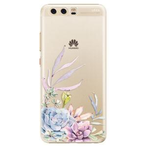 Plastové puzdro iSaprio - Succulent 01 - Huawei P10
