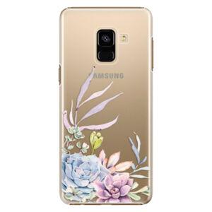 Plastové puzdro iSaprio - Succulent 01 - Samsung Galaxy A8 2018