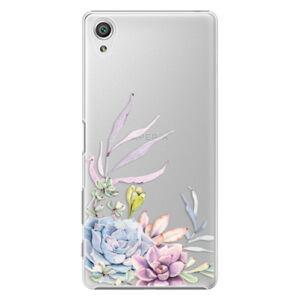 Plastové puzdro iSaprio - Succulent 01 - Sony Xperia X