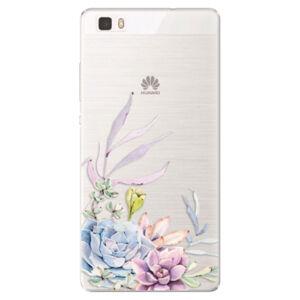 Silikónové puzdro iSaprio - Succulent 01 - Huawei Ascend P8 Lite