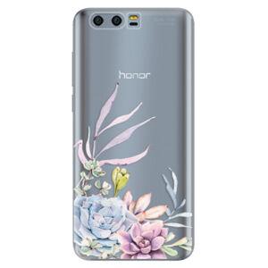 Silikónové puzdro iSaprio - Succulent 01 - Huawei Honor 9
