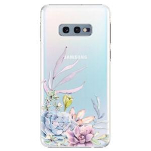 Plastové puzdro iSaprio - Succulent 01 - Samsung Galaxy S10e