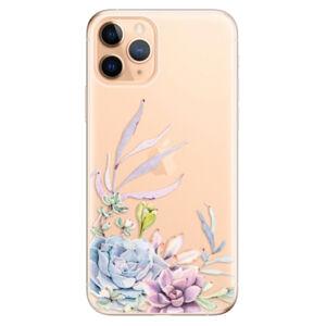 Odolné silikónové puzdro iSaprio - Succulent 01 - iPhone 11 Pro