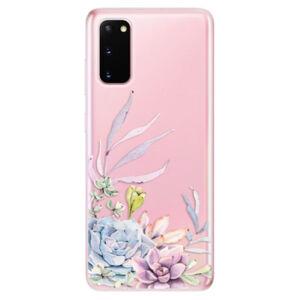 Odolné silikónové puzdro iSaprio - Succulent 01 - Samsung Galaxy S20