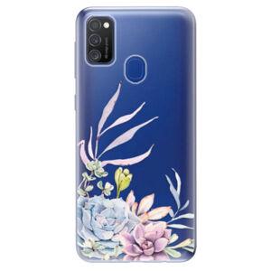 Odolné silikónové puzdro iSaprio - Succulent 01 - Samsung Galaxy M21