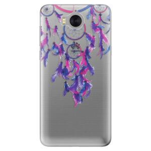 Silikónové puzdro iSaprio - Dreamcatcher 01 - Huawei Y5 2017 / Y6 2017