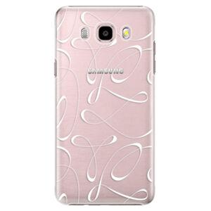Plastové puzdro iSaprio - Fancy - white - Samsung Galaxy J5 2016