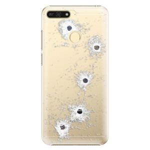 Plastové puzdro iSaprio - Gunshots - Huawei Honor 7A