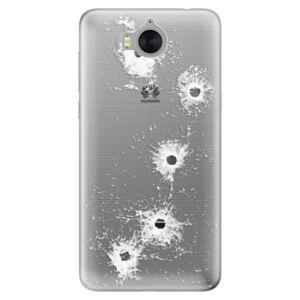 Silikónové puzdro iSaprio - Gunshots - Huawei Y5 2017 / Y6 2017