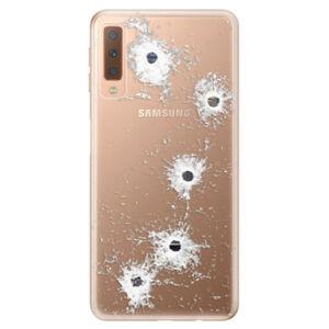 Odolné silikónové puzdro iSaprio - Gunshots - Samsung Galaxy A7 (2018)