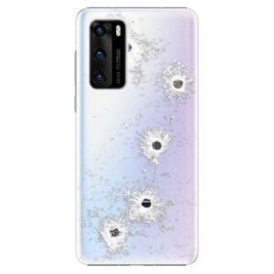 Plastové puzdro iSaprio - Gunshots - Huawei P40