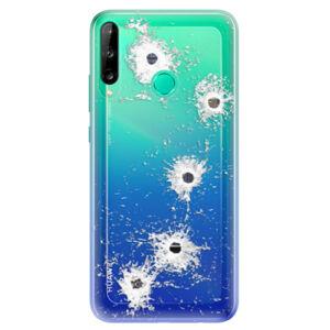 Odolné silikónové puzdro iSaprio - Gunshots - Huawei P40 Lite E