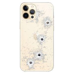 Odolné silikónové puzdro iSaprio - Gunshots - iPhone 12 Pro Max