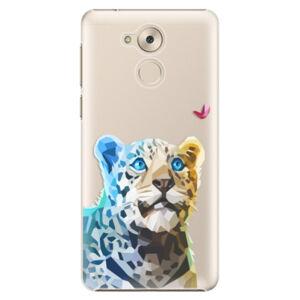 Plastové puzdro iSaprio - Leopard With Butterfly - Huawei Nova Smart