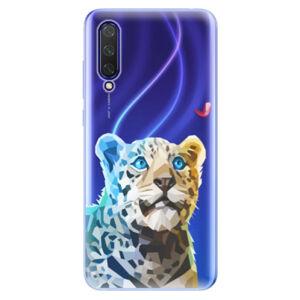 Odolné silikónové puzdro iSaprio - Leopard With Butterfly - Xiaomi Mi 9 Lite