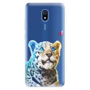 Odolné silikónové puzdro iSaprio - Leopard With Butterfly - Xiaomi Redmi 8A
