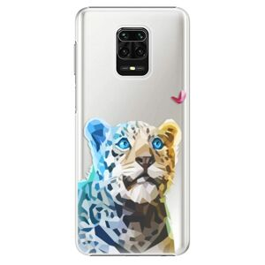 Plastové puzdro iSaprio - Leopard With Butterfly - Xiaomi Redmi Note 9 Pro / Note 9S