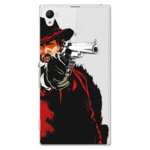 Plastové puzdro iSaprio - Red Sheriff - Sony Xperia Z1