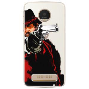 Plastové puzdro iSaprio - Red Sheriff - Lenovo Moto Z Play