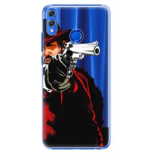 Plastové puzdro iSaprio - Red Sheriff - Huawei Honor 8X