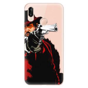 Odolné silikónové puzdro iSaprio - Red Sheriff - Huawei P20 Lite