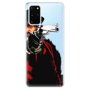 Odolné silikónové puzdro iSaprio - Red Sheriff - Samsung Galaxy S20+