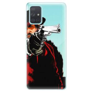 Odolné silikónové puzdro iSaprio - Red Sheriff - Samsung Galaxy A71