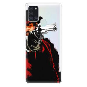 Odolné silikónové puzdro iSaprio - Red Sheriff - Samsung Galaxy A21s