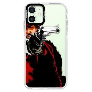 Silikónové puzdro Bumper iSaprio - Red Sheriff - iPhone 12