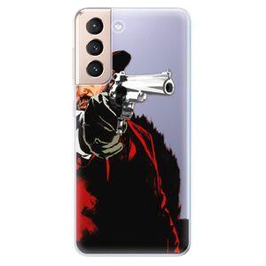 Odolné silikónové puzdro iSaprio - Red Sheriff - Samsung Galaxy S21