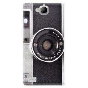 Plastové puzdro iSaprio - Vintage Camera 01 - Huawei Honor 3C