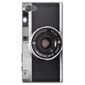 Plastové puzdro iSaprio - Vintage Camera 01 - Sony Xperia Z5 Compact