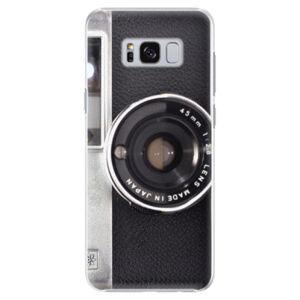 Plastové puzdro iSaprio - Vintage Camera 01 - Samsung Galaxy S8 Plus