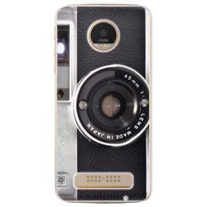 Plastové puzdro iSaprio - Vintage Camera 01 - Lenovo Moto Z Play
