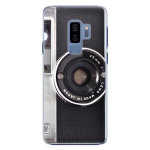 Plastové puzdro iSaprio - Vintage Camera 01 - Samsung Galaxy S9 Plus