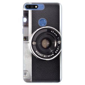 Silikónové puzdro iSaprio - Vintage Camera 01 - Huawei Honor 7C