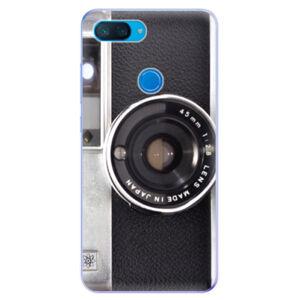 Odolné silikonové pouzdro iSaprio - Vintage Camera 01 - Xiaomi Mi 8 Lite