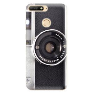 Odolné silikónové puzdro iSaprio - Vintage Camera 01 - Huawei Y6 Prime 2018