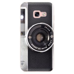 Odolné silikónové puzdro iSaprio - Vintage Camera 01 - Samsung Galaxy A3 2017