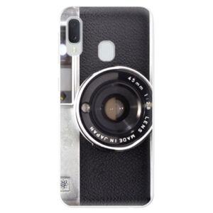 Odolné silikónové puzdro iSaprio - Vintage Camera 01 - Samsung Galaxy A20e