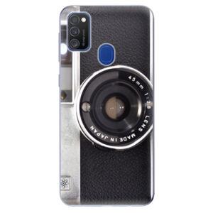 Odolné silikónové puzdro iSaprio - Vintage Camera 01 - Samsung Galaxy M21