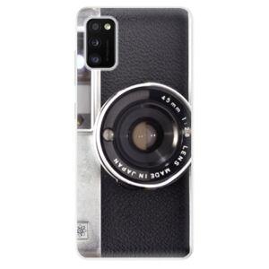 Odolné silikónové puzdro iSaprio - Vintage Camera 01 - Samsung Galaxy A41