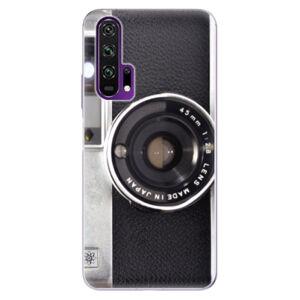 Odolné silikónové puzdro iSaprio - Vintage Camera 01 - Honor 20 Pro