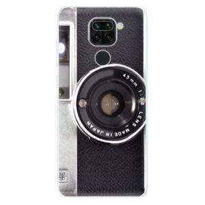 Odolné silikónové puzdro iSaprio - Vintage Camera 01 - Xiaomi Redmi Note 9