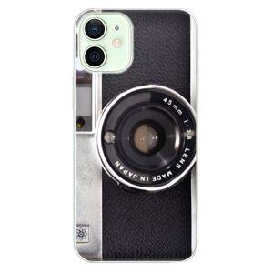 Odolné silikónové puzdro iSaprio - Vintage Camera 01 - iPhone 12