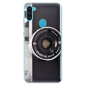 Odolné silikónové puzdro iSaprio - Vintage Camera 01 - Samsung Galaxy M11