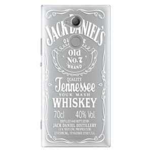 Plastové puzdro iSaprio - Transparent White Jack - Sony Xperia XA2 Ultra